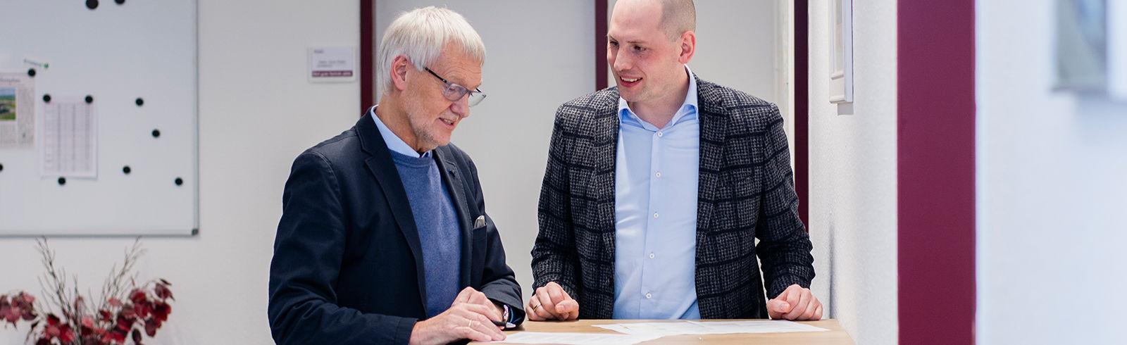 Die beiden Geschäftsführer der ROBIN GmbH: Hans-Gerd und Marco Robin