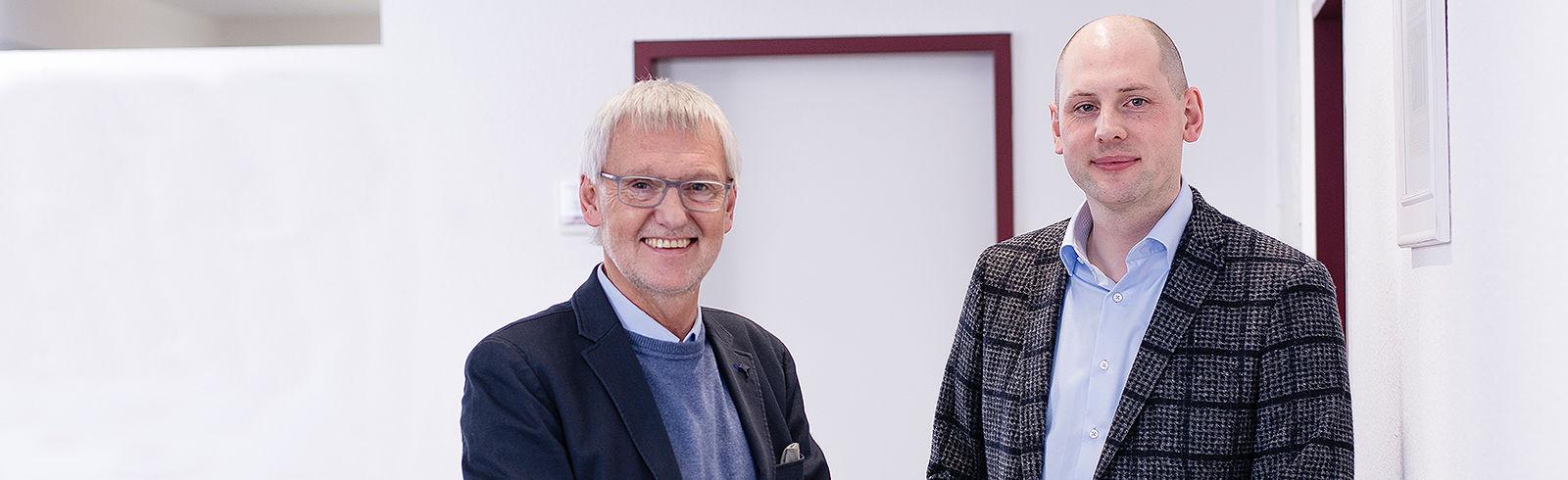 Hans-Gerd und Marco Robin, Geschäftsführer der ROBIN GmbH